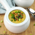 Vegan Baked Potato Soup square
