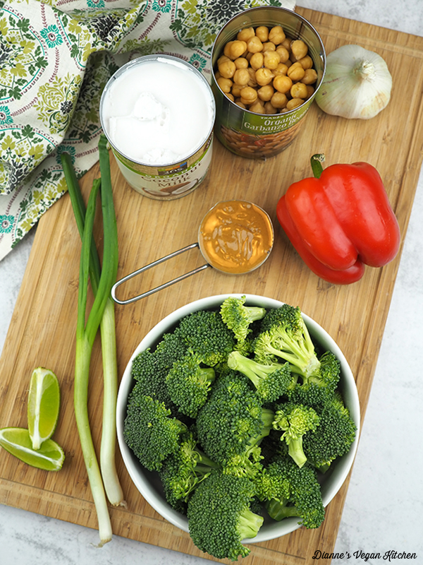 stir-fry ingredients