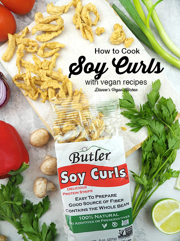 soy curl package with text