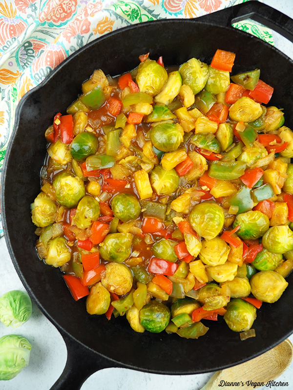 stir-fry in pan