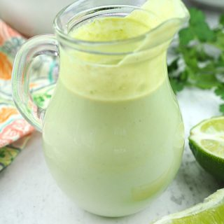 Cilantro-Lime Dressing from The College Vegan Cookbook by Heather Nicholds
