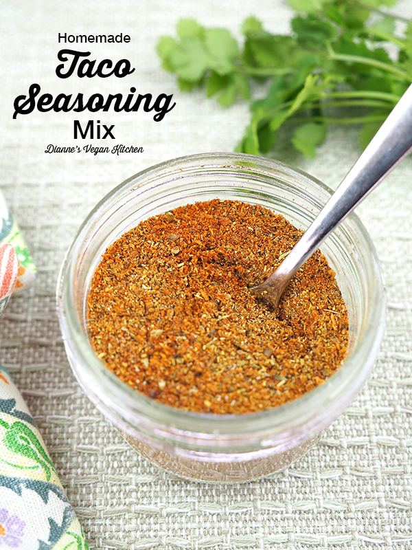 taco seasoning with text overlay