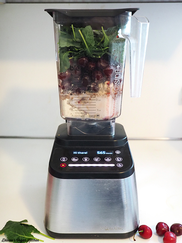 Smoothie ingredients in Blendtec