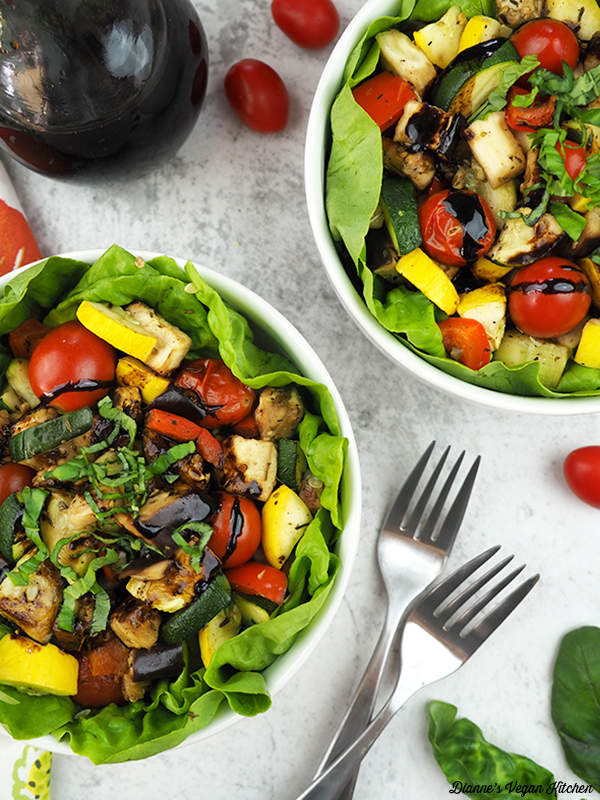 Roasted Ratatouille Salad from above
