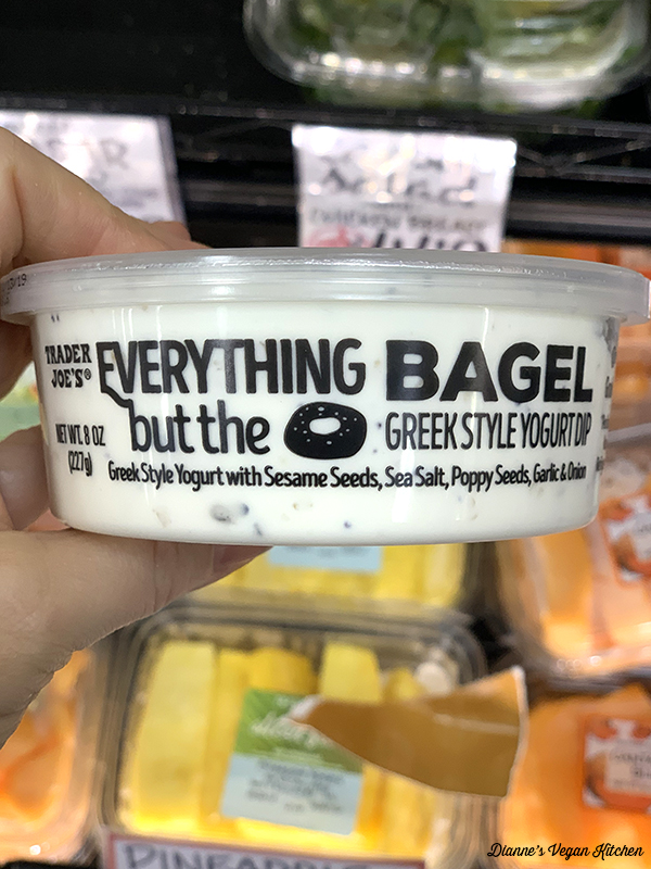 Trader Joe's Vegan Everything but the Bagel Dip