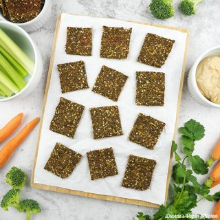 Green Juice Pulp Crackers
