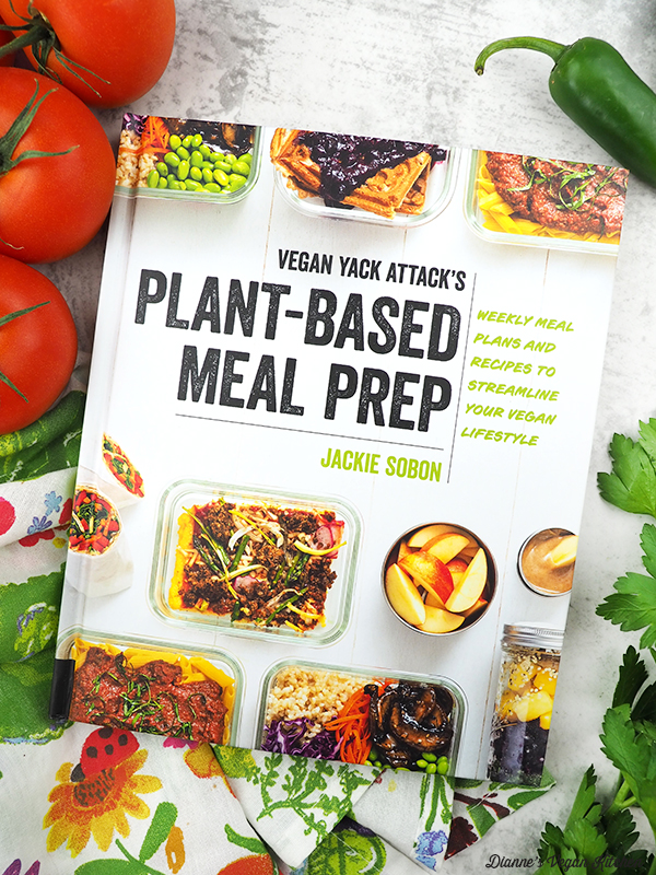 Vegan Yack Attack's Plant-Based Meal Prep by Jackie Sobon