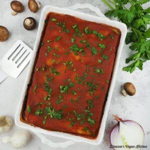 lasagna square