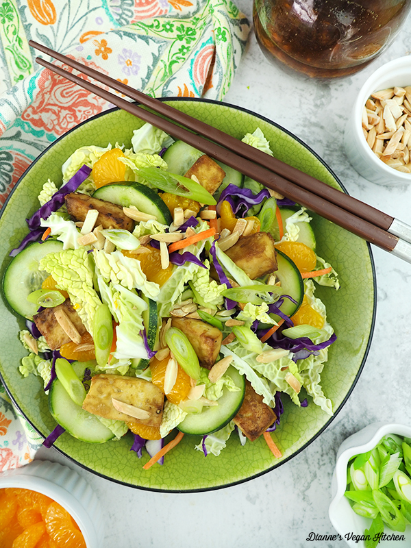 Chinese Tofu Salad from Wait, That's Vegan?!