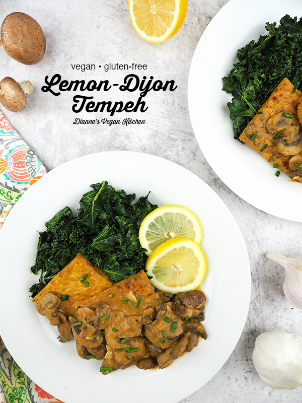tempeh overhead with text overlay