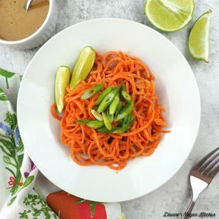 carrot noodles square