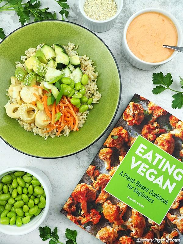 bowl with Eating Vegan