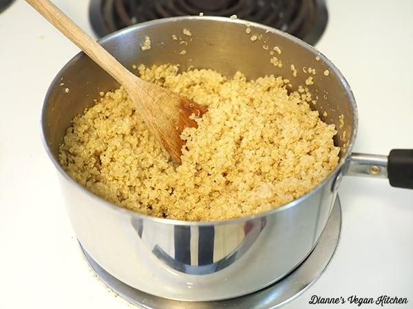 cooking quinoa