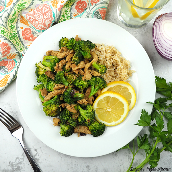 Lemon Pepper Soy Curls with Broccoli square
