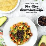 Tex-Mex Scrambled Tofu with text overlay