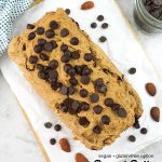 Vegan Peanut Butter Bread with text overlay