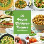 20 Best Vegan Chickpea Recipes collage