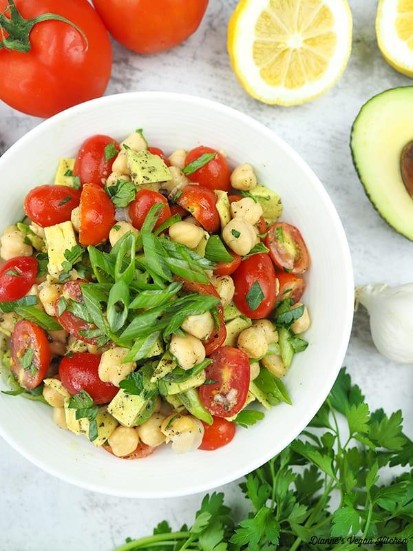 salad overhead