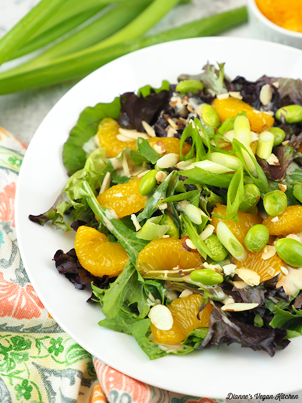 close up of Mandarin Orange Salad