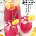 Lavender Lemonade with text overlay