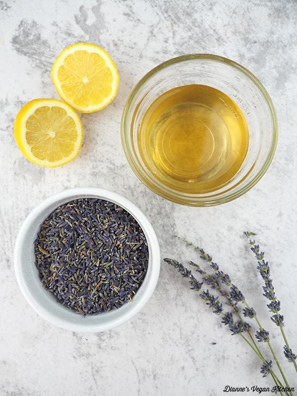 lemons, agave, lavender