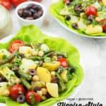 potato salad with text overlay