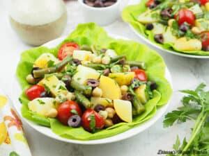 two salads horizontal