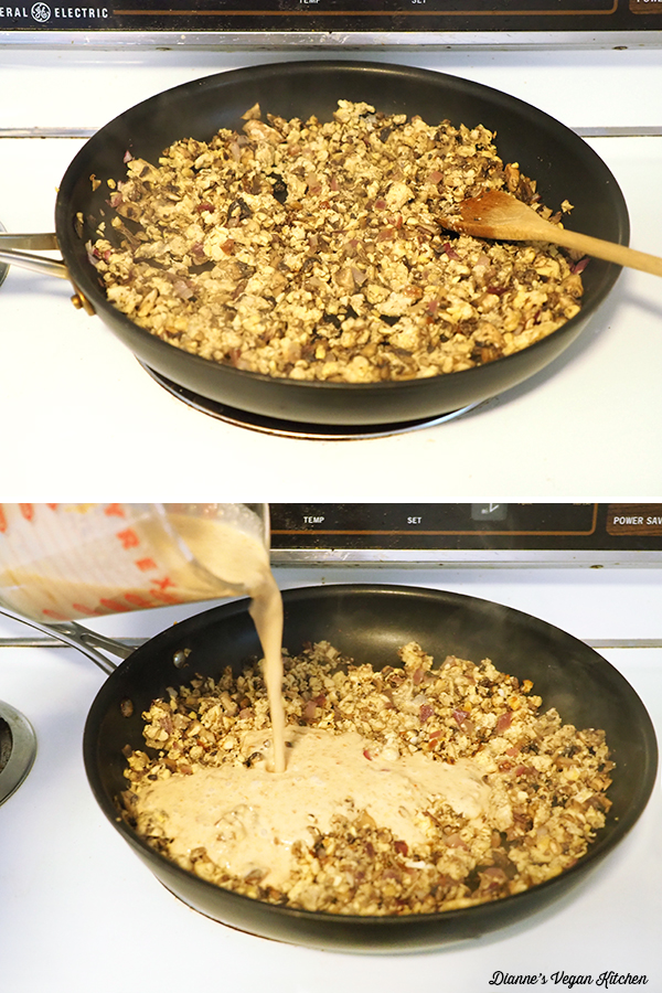cooking tempeh