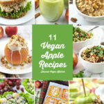 The health benefits of apples with recipes collage