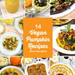 Health Benefits of Pumpkin + Vegan Recipes! collage