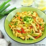 bowl of noodles square