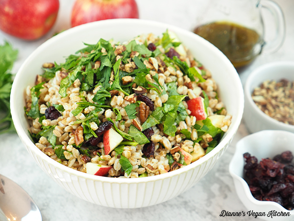 farro salad horizontal