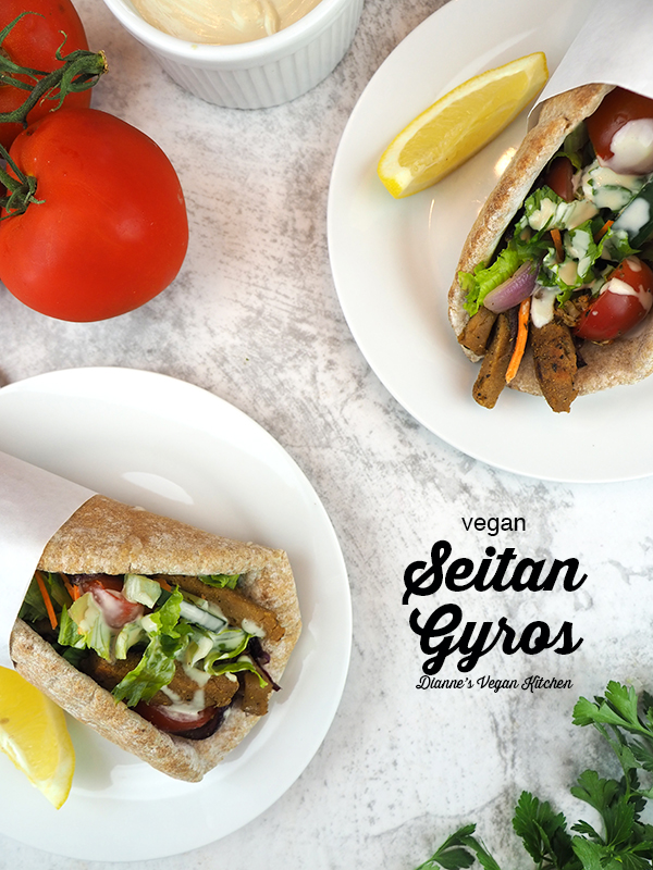 two gyros overhead with text overlay
