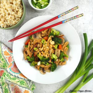 Vegan Kung Pao Soy Curls square