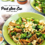 Vegan Pad See Ew with text overlay