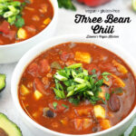 two bowls of chili with text overlay