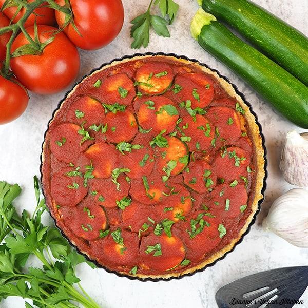 Vegan Lasagna Tart square