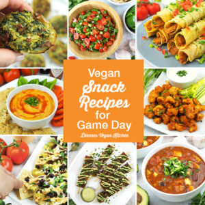Vegan Snack Recipes for Game Day