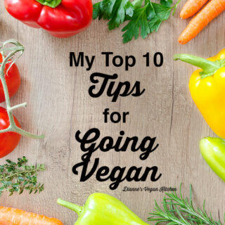 My Top 10 tips for Going Vegan square