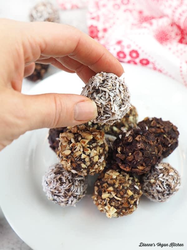taking a truffle