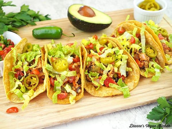 Vegan Chorizo Tacos horizontal