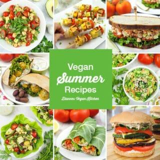 Vegan Summer Recipes square