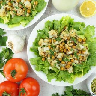 Roasted Cauliflower Salad square