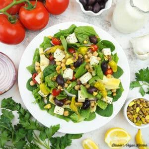 Mediterranean Salad square