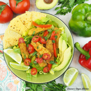 bowl of salad with vegetables