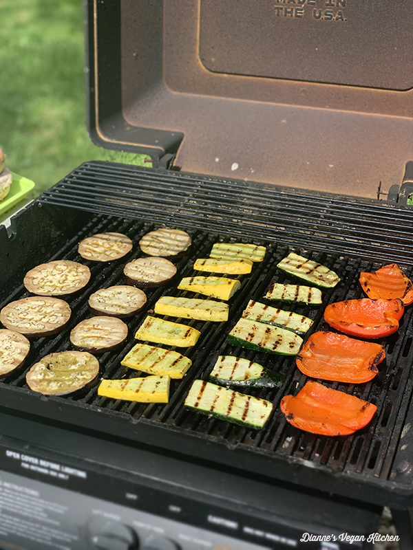 vegan grilling for labor day