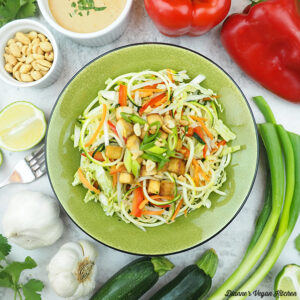one bowl of zoodles square